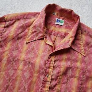 Mr. Dee Cee long sleeve button down shirt UA